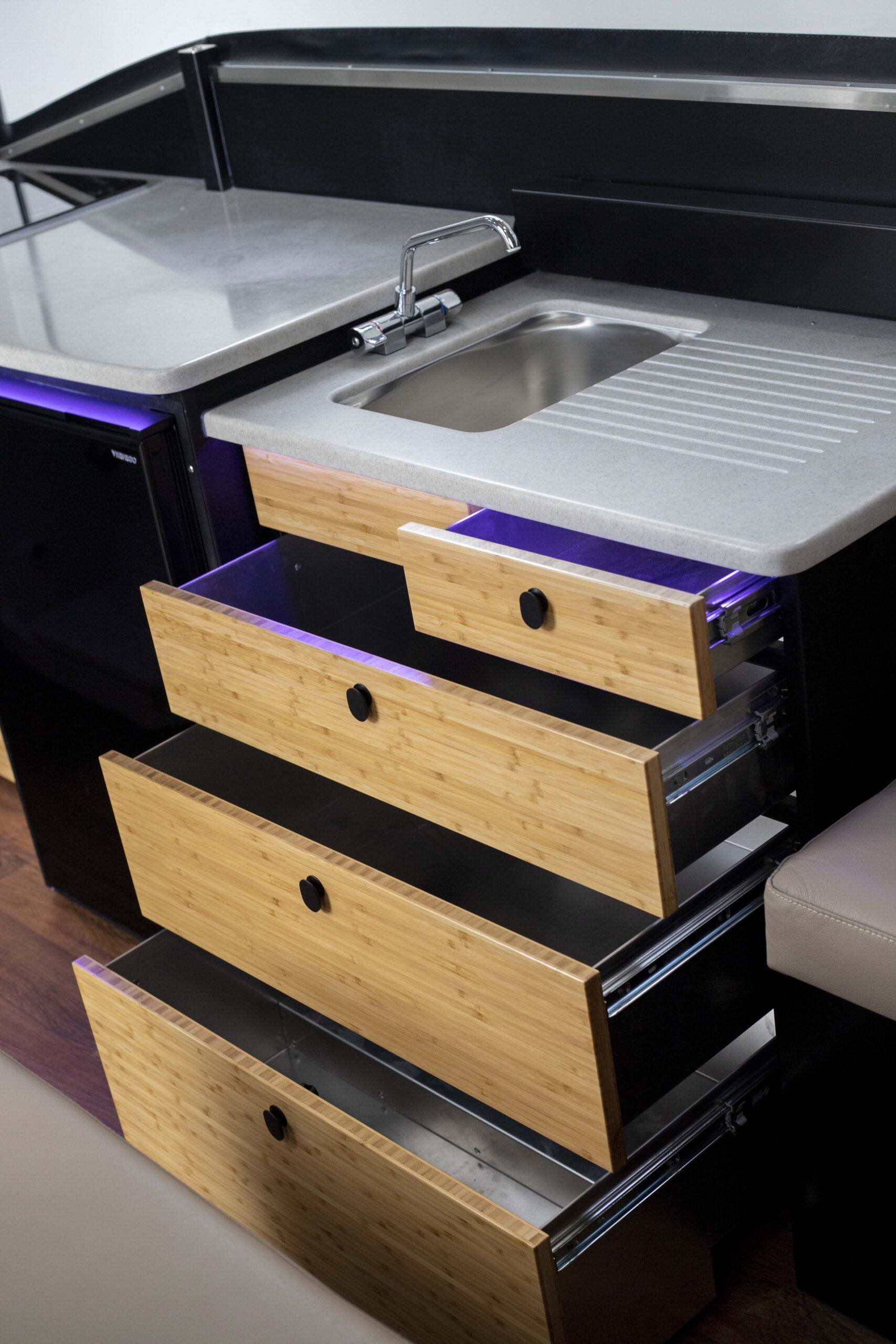 Karavan Storage Drawers Kitchen
