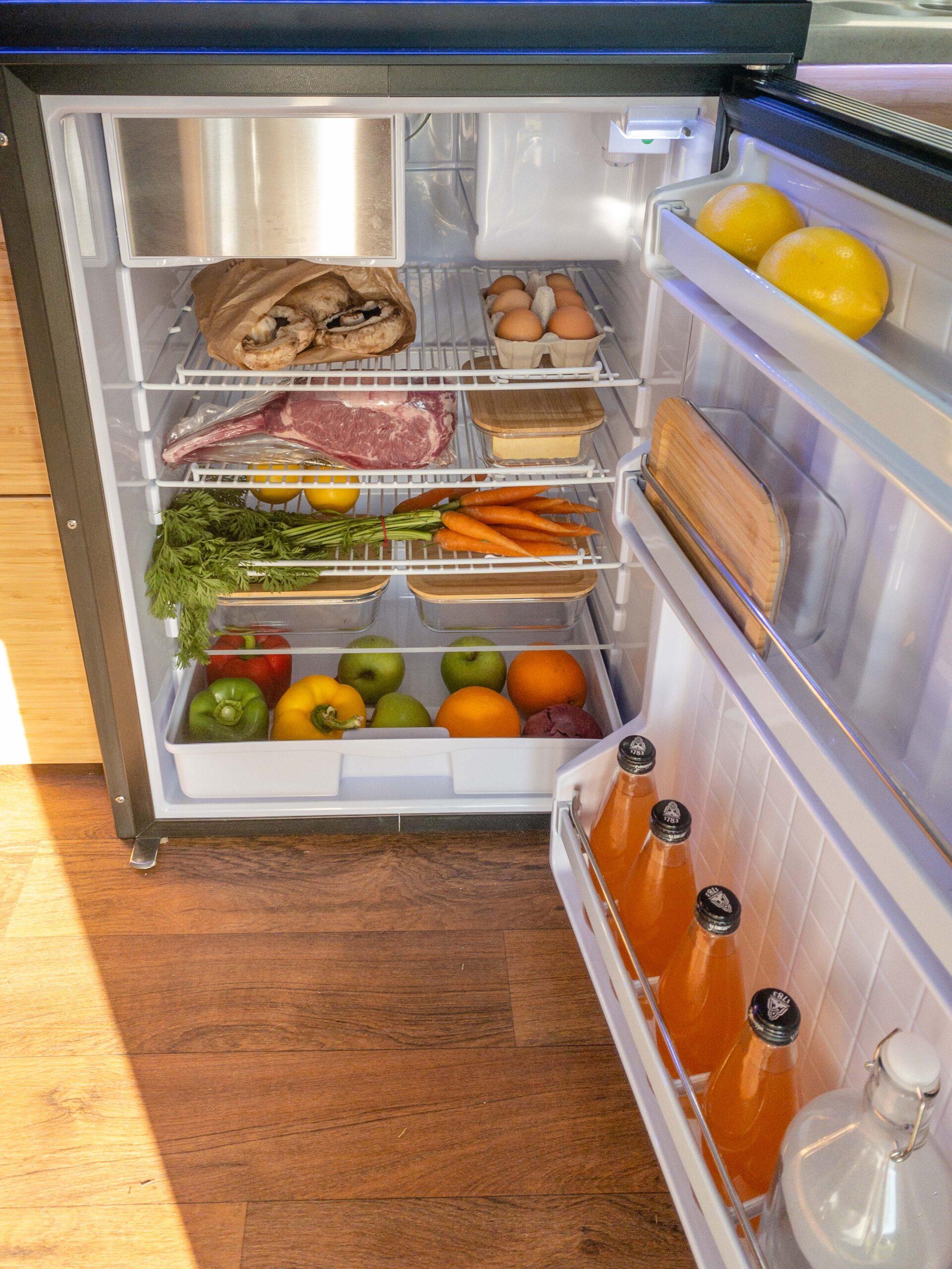 Kimberley Karavan 130L fridge