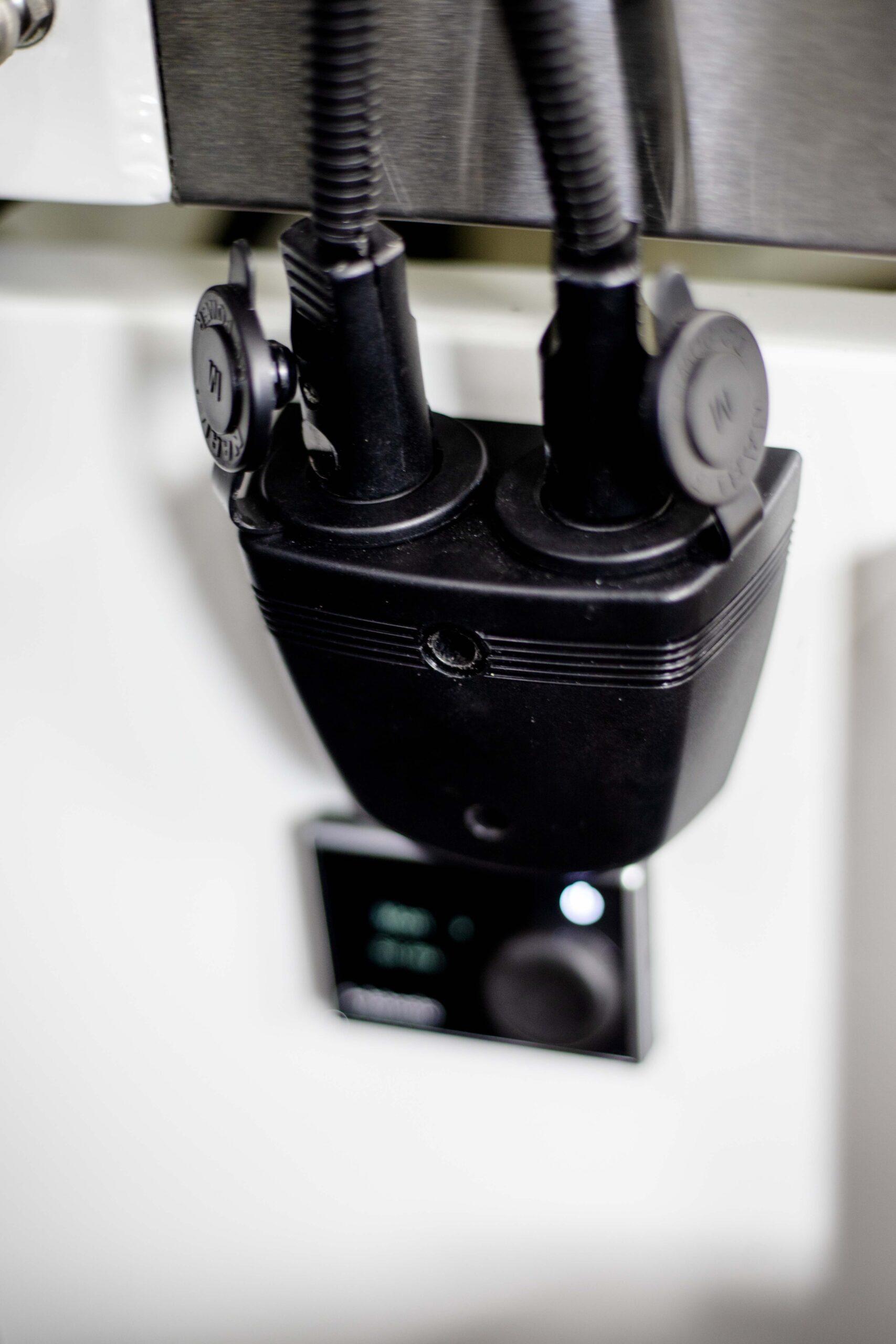 Kimberley Karavan bed hella plug heater reading lights-1
