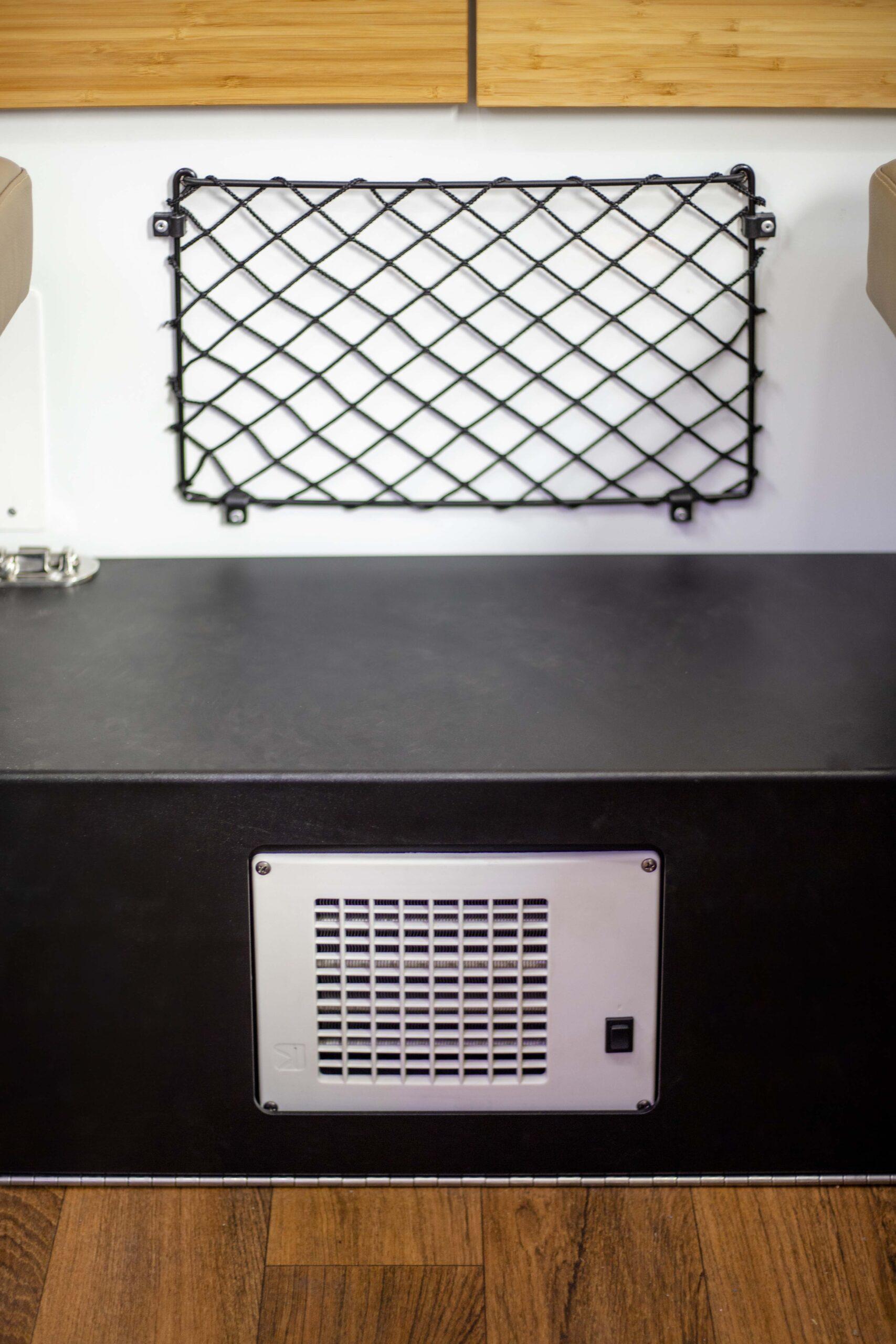 Kimberley Karavan bed step heater
