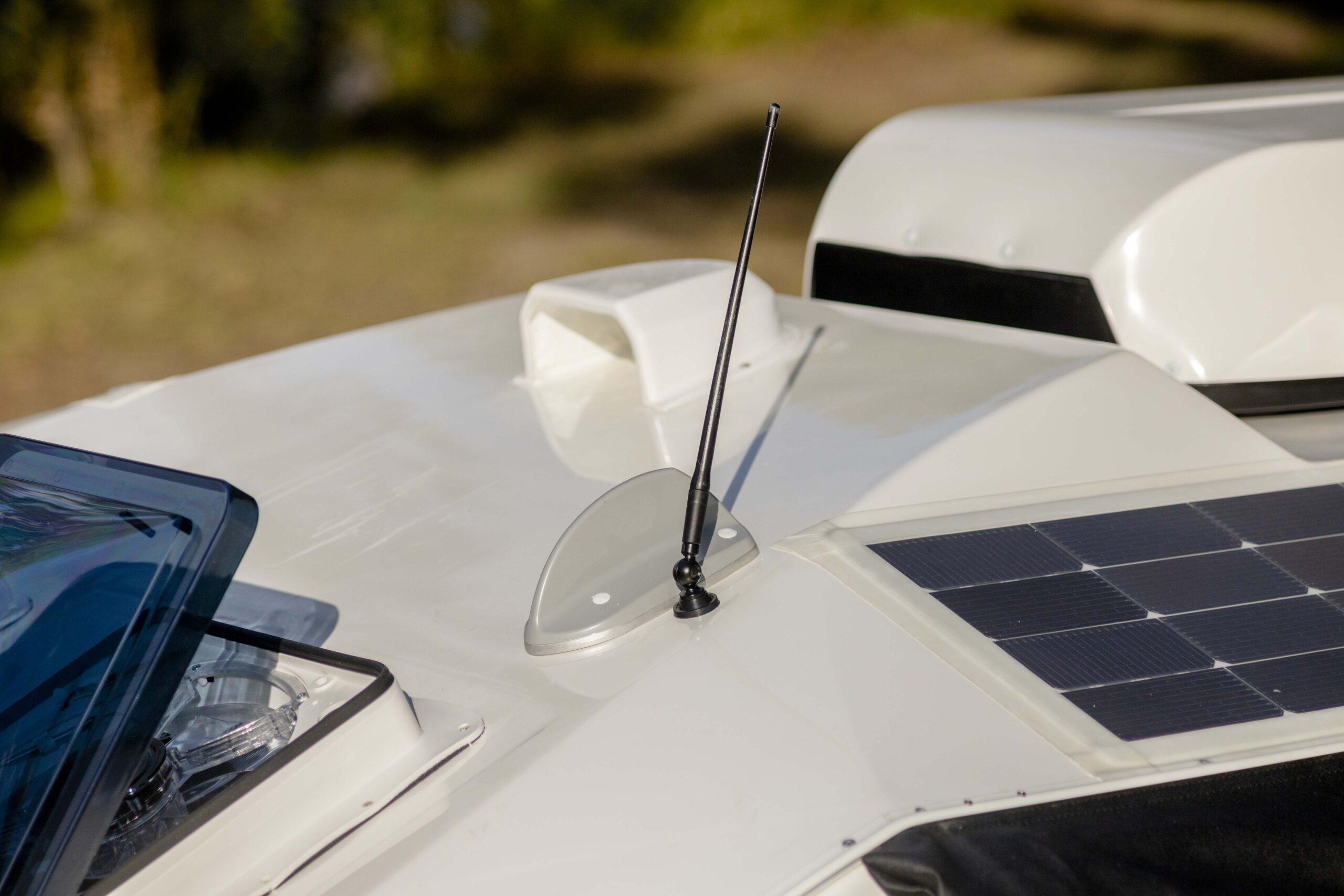 Kimberley Karavan booster antenna