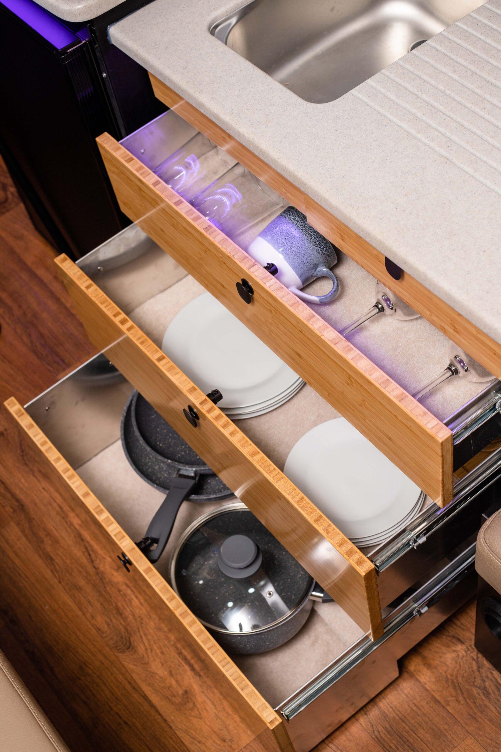 Kimberley Karavan drawers