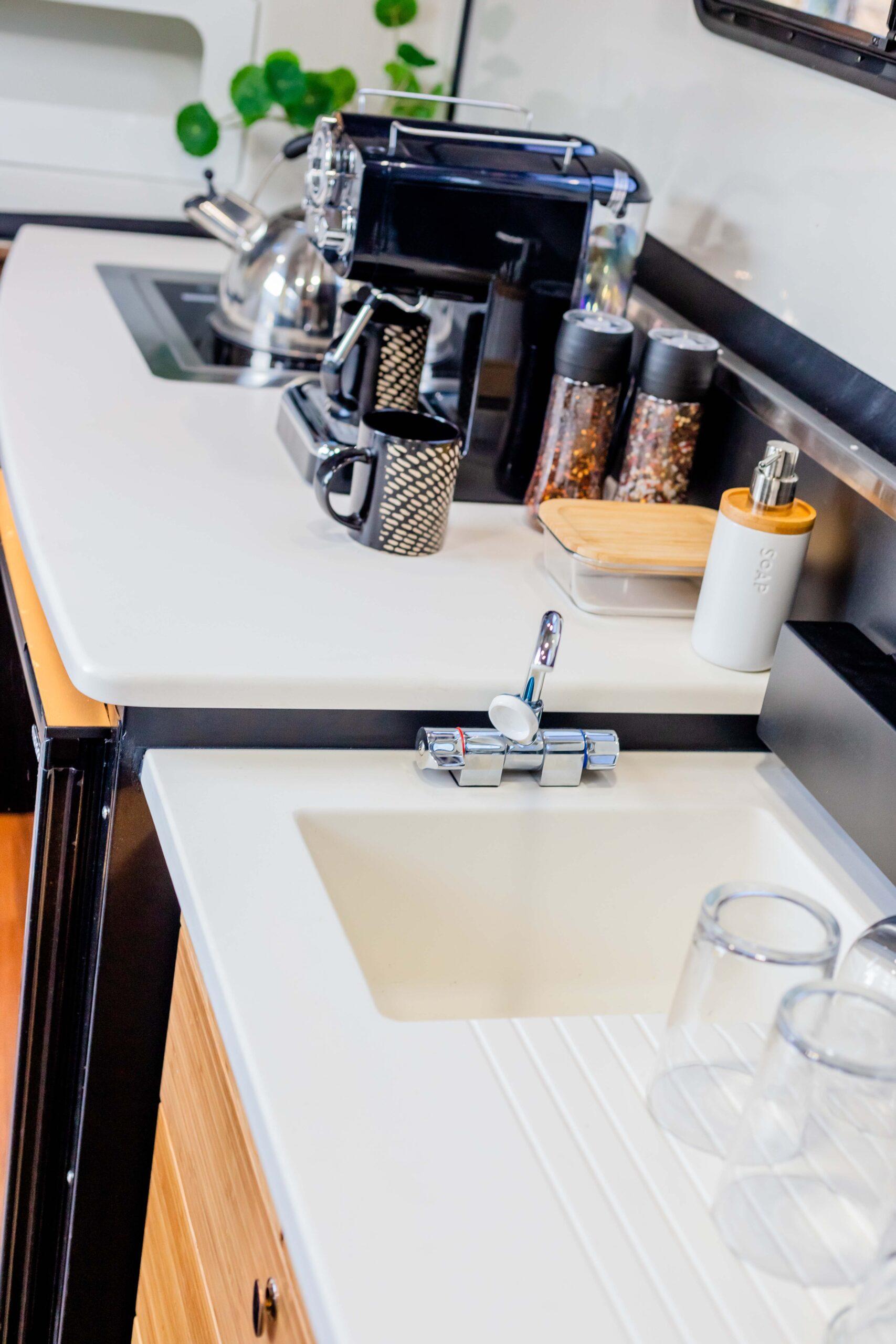Kimberley Karavan interior galley kitchen-1