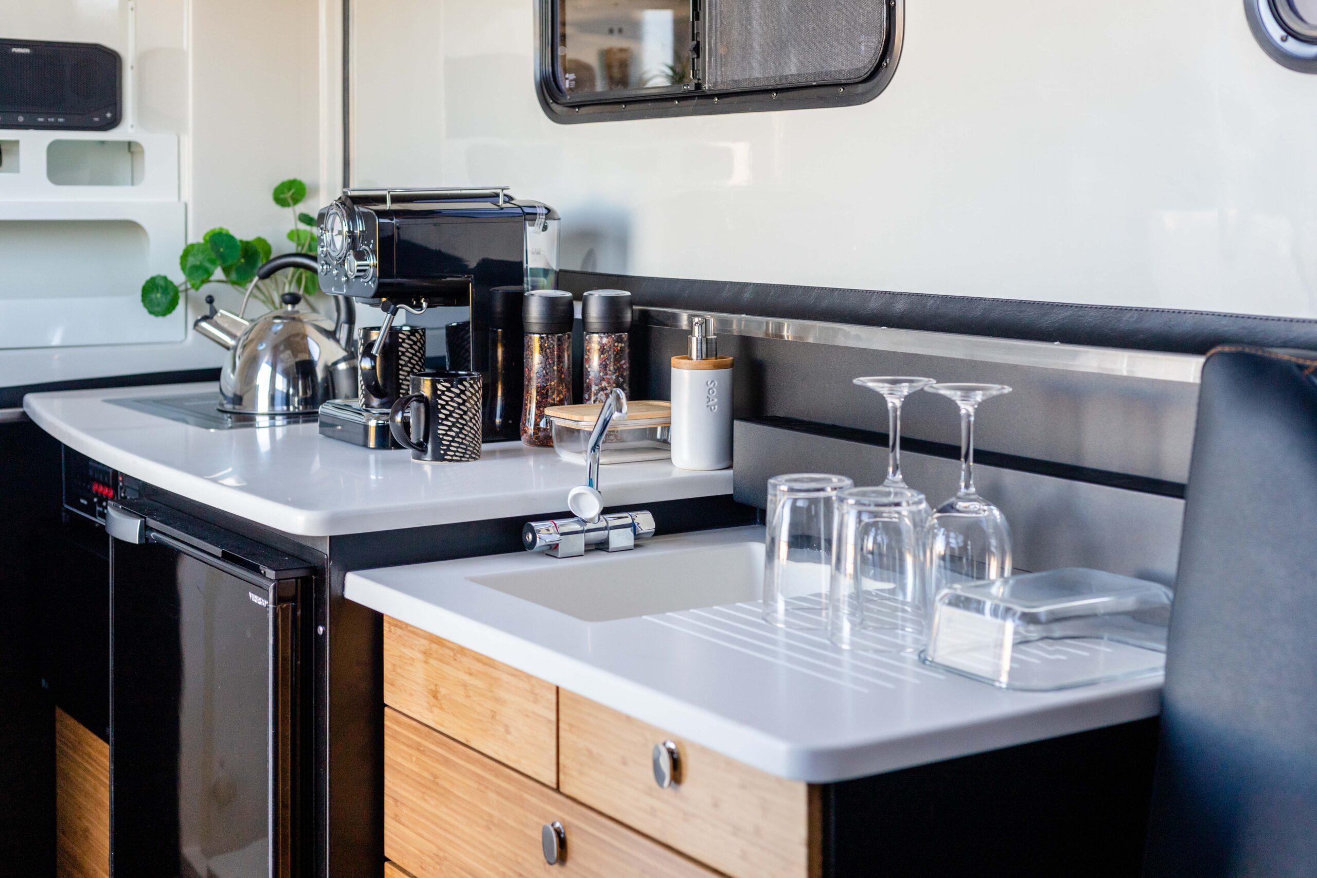 Kimberley Karavan interior kitchen-4