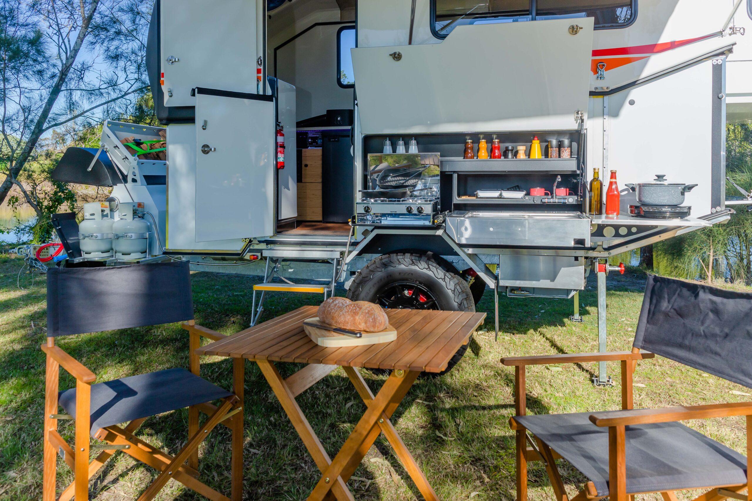Kimberley Karavan outdoor galley