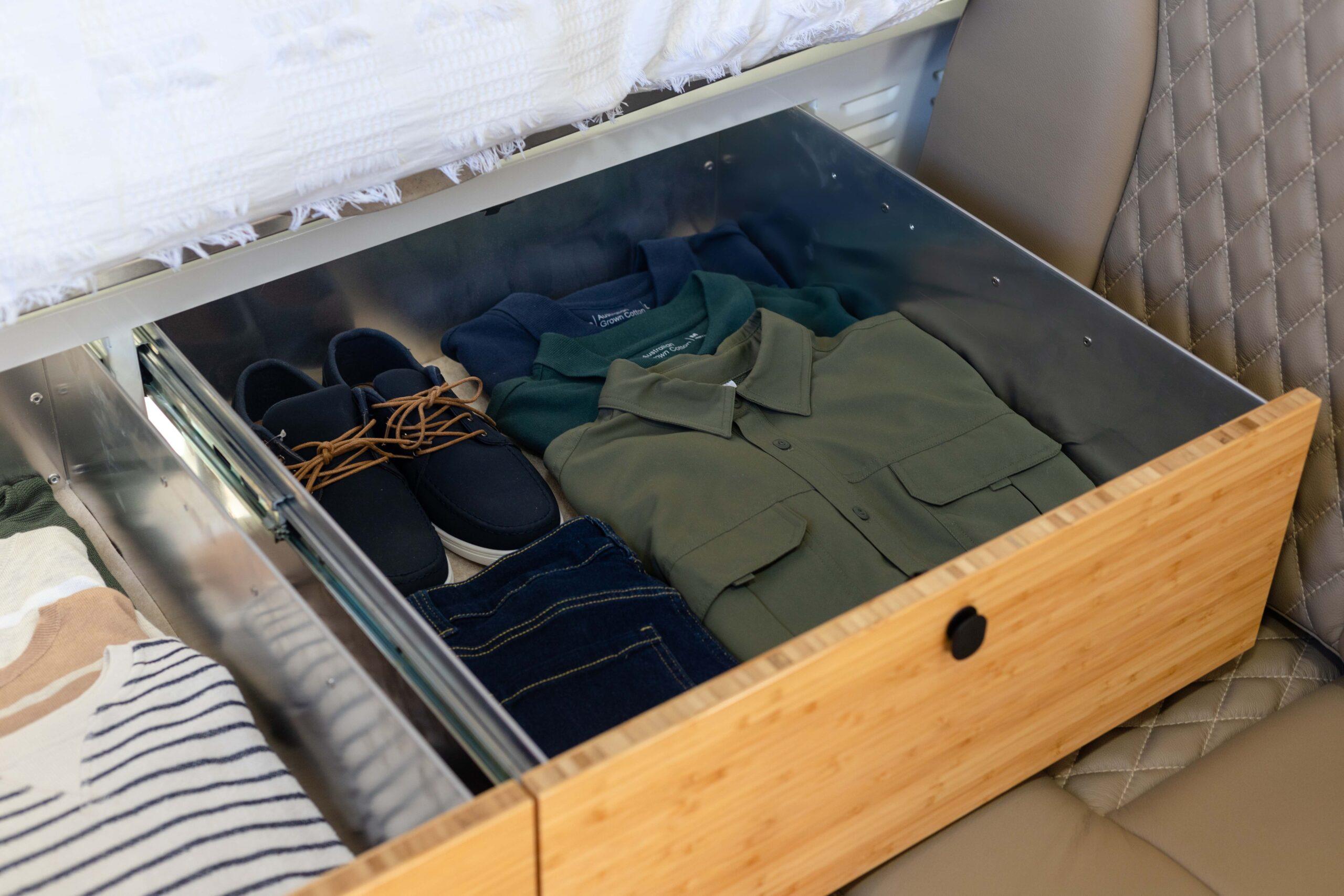 Kimberley Karavan under bed storage-0