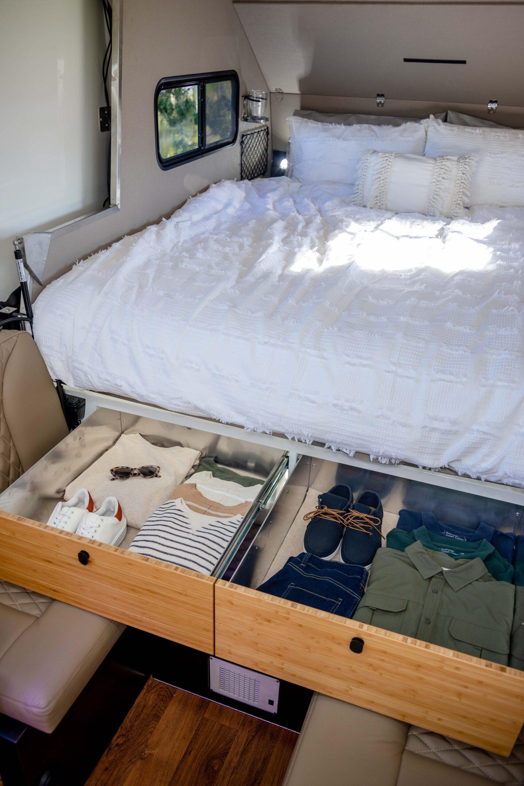 Kimberley Karavan under bed storage-4